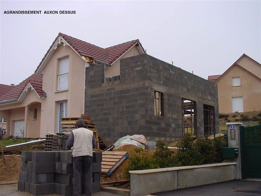Agrandissement maison surface doubs besan on - Estimation construction maison ...