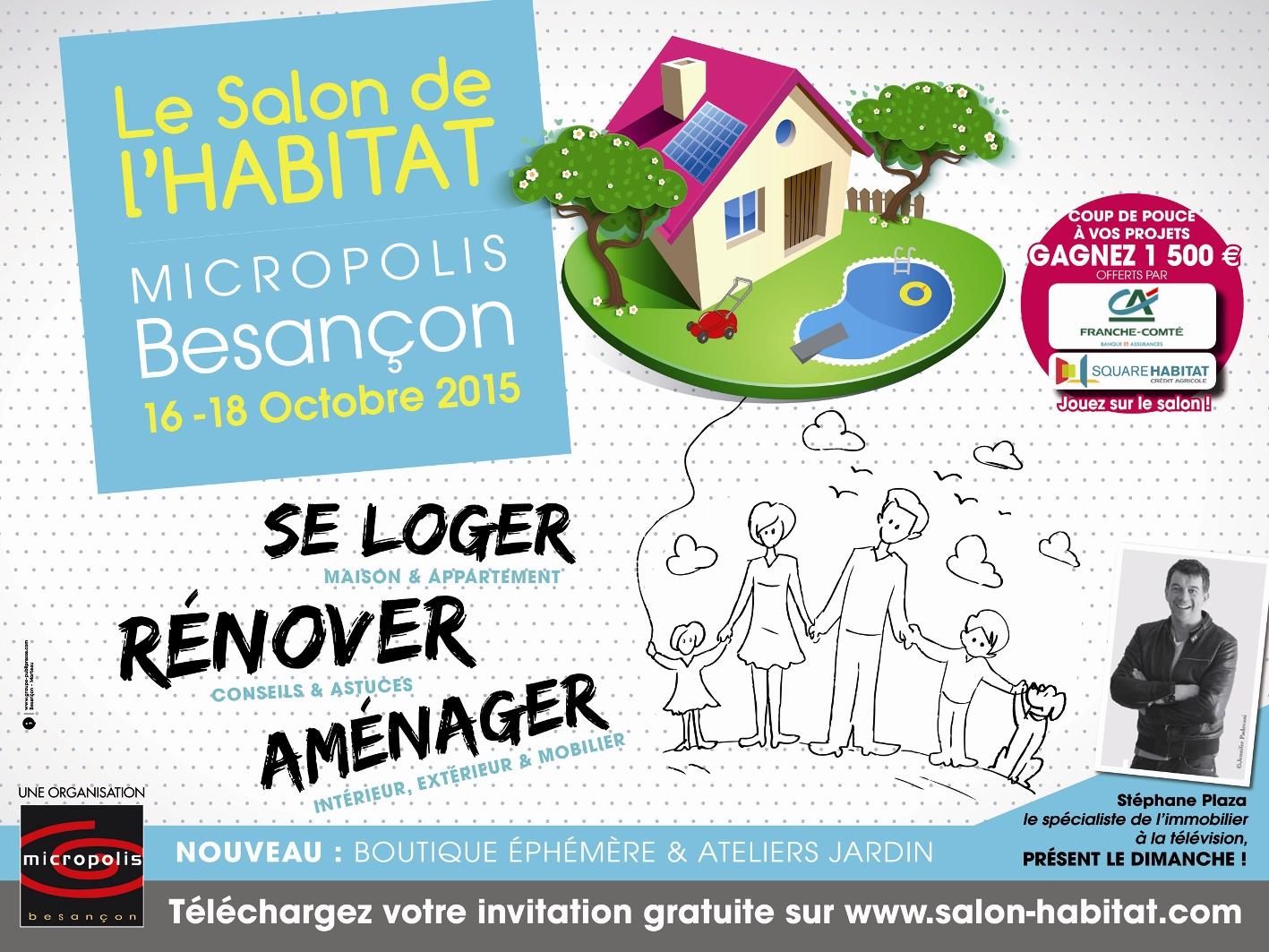 Maitrise d 39 oeuvre batiment salon habitat besan on 2014 - Salon habitat besancon ...